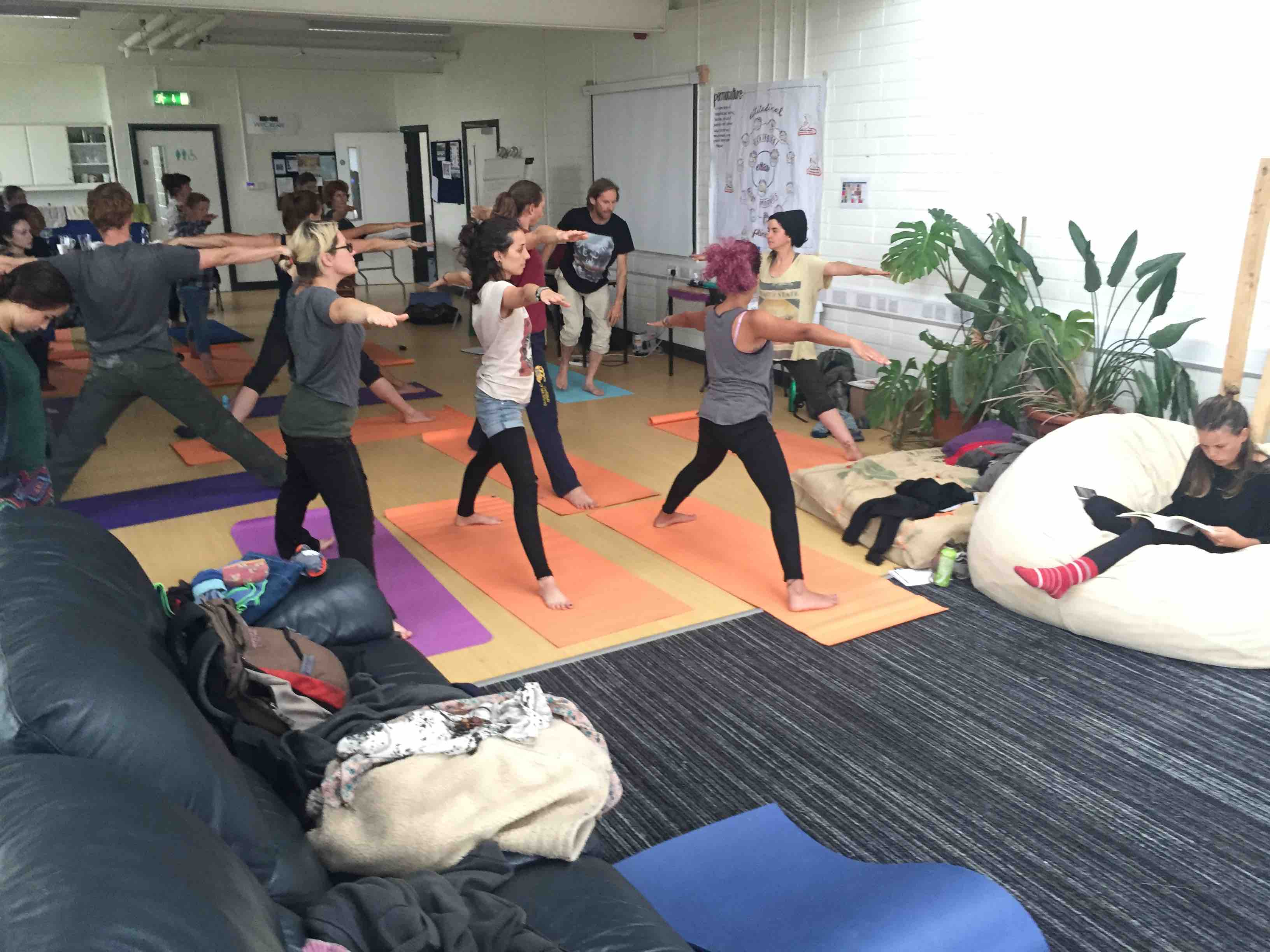 Pop-up Yoga workshop